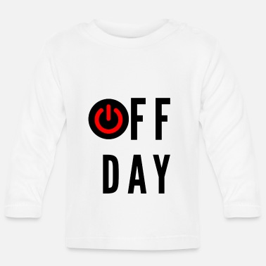 Off OFF Day - Baby longsleeve