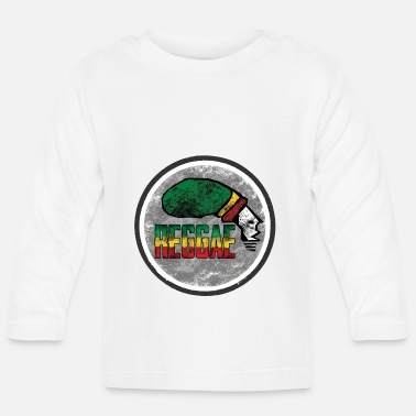reggae is the love - Baby Langarmshirt