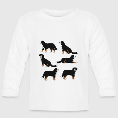 Bernese mountain dog selection - Baby Long Sleeve T-Shirt