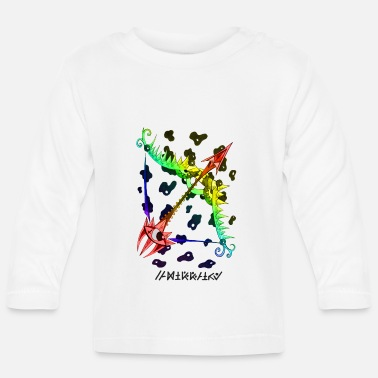 Multi-colored Sagittarius multi-color - Baby Longsleeve Shirt