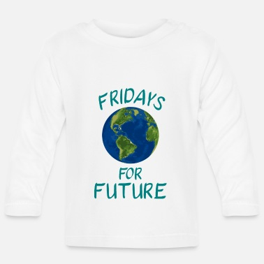 Save Fridays for Future FFF - Baby Longsleeve Shirt