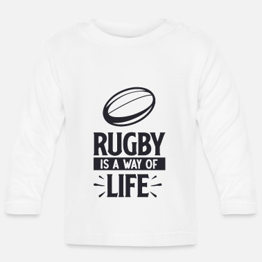 Golf Rugby is a way of - T-shirt manches longues Bébé
