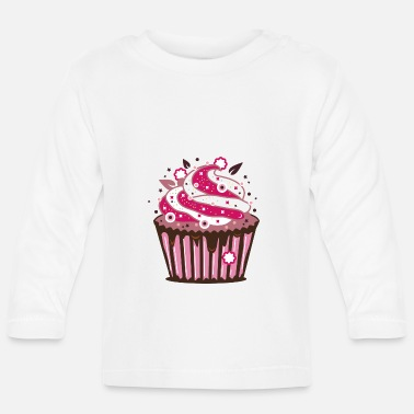 Frost A cupcake with frosting - Baby Longsleeve Shirt