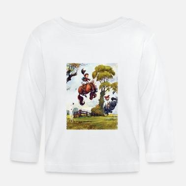 PonyRodeo Thelwell Cartoon - Baby Longsleeve Shirt
