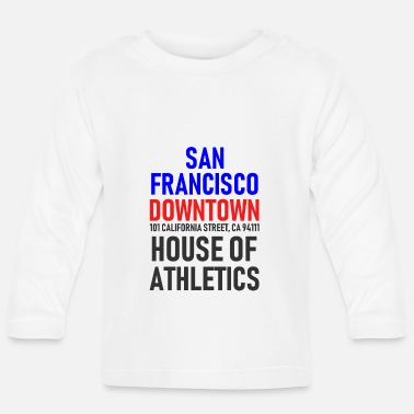 Ville San Francisco - Centre ville - House of Athletics - T-shirt manches longues Bébé