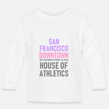 Los Angeles San Francisco - Downtown - House of Athletics - Baby Langarmshirt