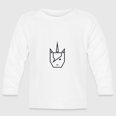 Vector Vector unicorn - Baby Long Sleeve T-Shirt
