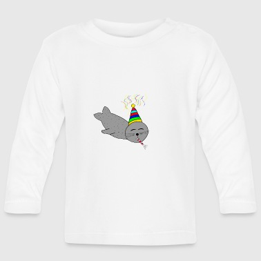 B Day B-day seal - Baby Long Sleeve T-Shirt