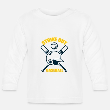 Strike Baseball - Strike Out - T-shirt manches longues Bébé