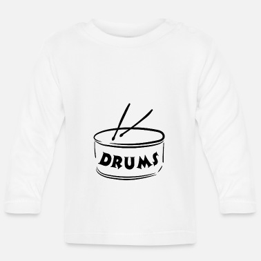 Instrument Drums - Instrument - Musical Instruments - Baby Longsleeve Shirt