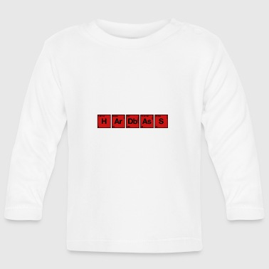 Periodic Table Hardbass Hardstyle periodic table of elements PSE - Baby Long Sleeve T-Shirt
