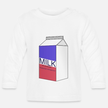 Milch Milch - Baby Langarmshirt