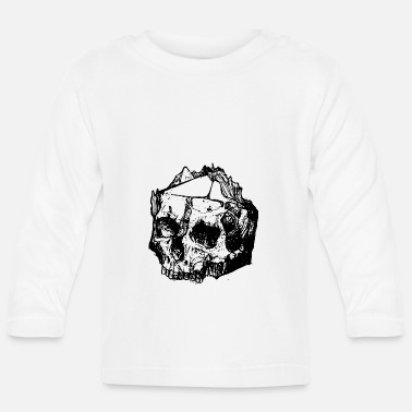 Geek Pen and paper live by the dice, by the dice - Baby Longsleeve Shirt
