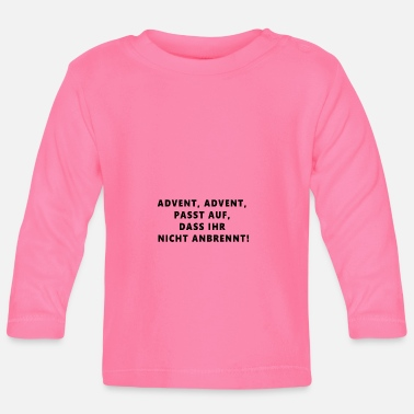 Advent Advent - Baby Langarmshirt