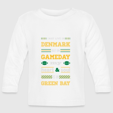 I may live in Denmark... (Green Bay edition) - Langærmet babyshirt
