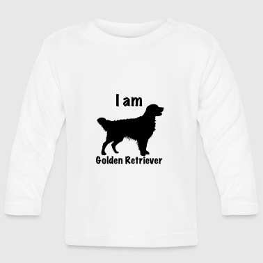 Golden Retriever Je suis Golden Retriever - T-shirt manches longues Bébé