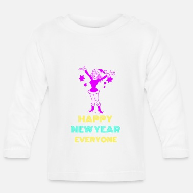 New Year's Day New year happy new year - Baby Longsleeve Shirt