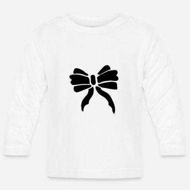 Occasion Elegant bow / bow party occasion - Baby Longsleeve Shirt