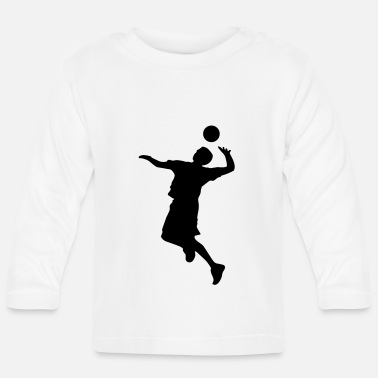 Volley Volley Sillhouette - Baby Longsleeve Shirt