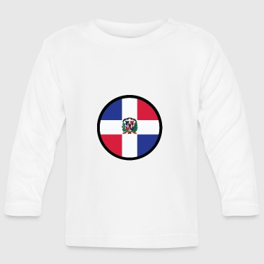 Under the sign of the Dominican Republic - Baby Long Sleeve T-Shirt