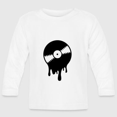 Melting Vinyl Record - Camiseta manga larga bebé