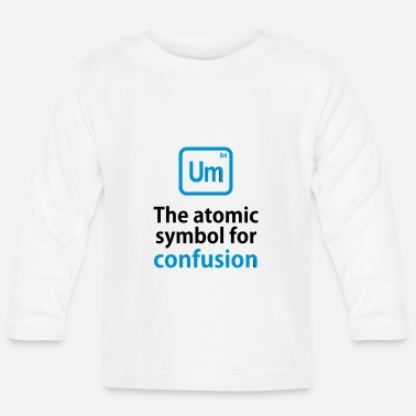 THE CHEMICAL ELEMENT OF CONFUSION - Långärmad baby T-shirt