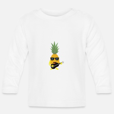 Rock N Roll Rock 'n' Roll pineapple - Baby Longsleeve Shirt