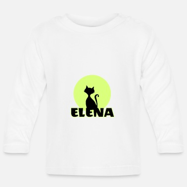Name Day Elena Name day first name personal gift - Baby Longsleeve Shirt