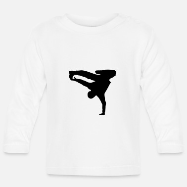 Breakdance Breakdance Breakdancer Style - Langærmet babyshirt