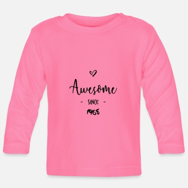Awesome Since Awesome since 1968 - Baby longsleeve