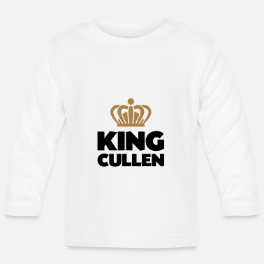 Cullen King cullen name thing crown - Baby Longsleeve Shirt