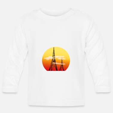 Radio Tower Radio Towers - Baby Longsleeve Shirt