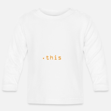 Program Do you even this? - Baby Longsleeve Shirt