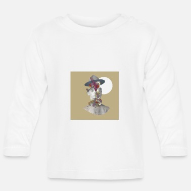 Graphic Art graphic fotomontage - Baby longsleeve
