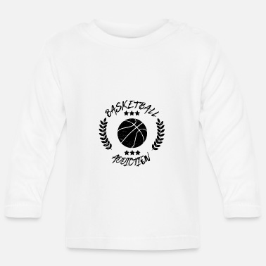 Addicted Basketball Addiction - Addict addicting ball sports - Baby Longsleeve Shirt