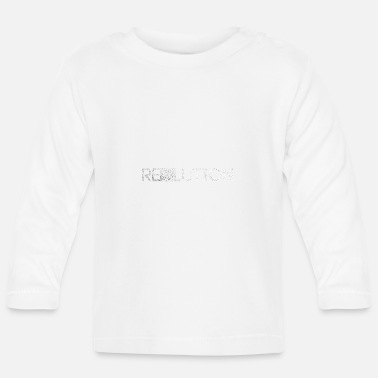 Resolution Revolution / Resolution - Baby Longsleeve Shirt