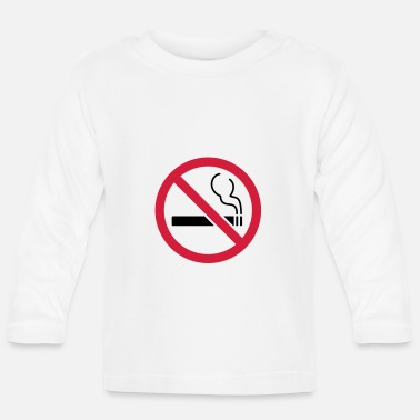Smoking No smoking No smoking - Baby Longsleeve Shirt