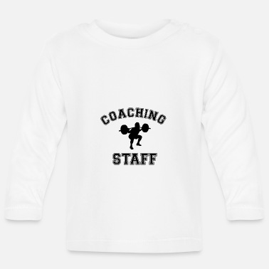 Staff Coaching Staff Fitness Workout - Långärmad T-shirt baby