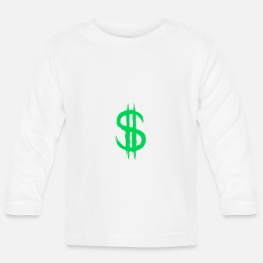 Dollar Sign Dollar sign dollar sign money - Baby Longsleeve Shirt