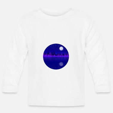 Scene Night scene - Baby Longsleeve Shirt