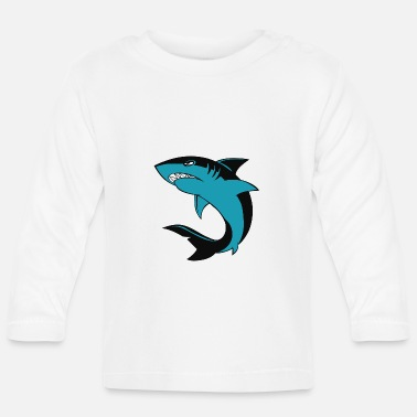 Watcher Little Shark - Baby Longsleeve Shirt