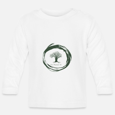 Fridays For Future No Planet B - Umweltschutz - Baby Langarmshirt
