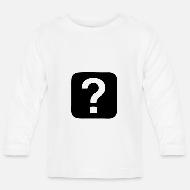 Question Question Mark - Question - Baby Longsleeve Shirt