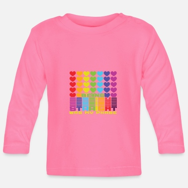 I Love Sex I live colorful and normal, Gay Pride - Baby Longsleeve Shirt