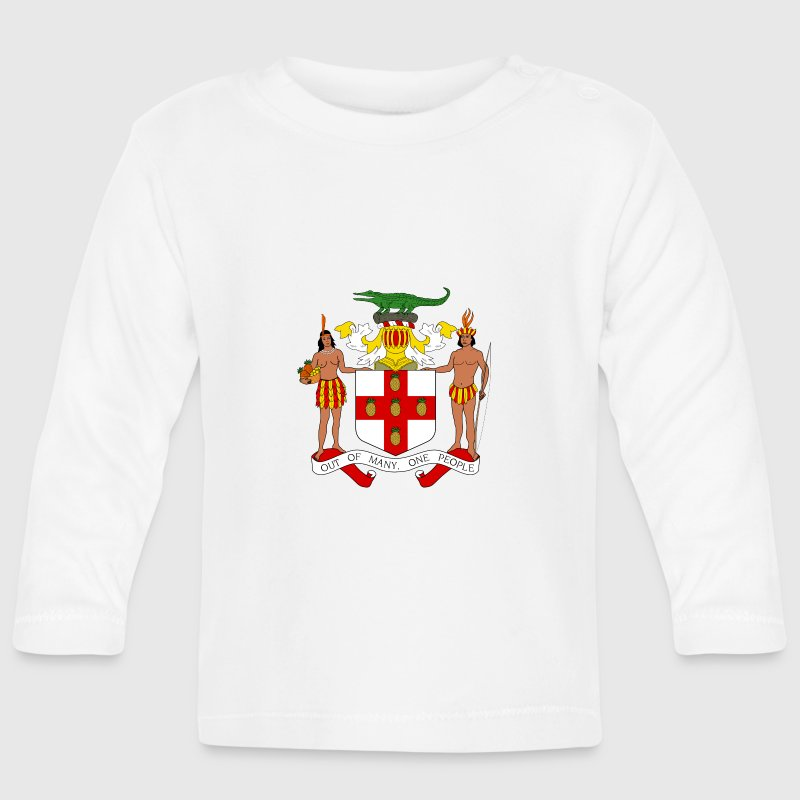 National Coat of Arms of Jamaica - Baby Long Sleeve T-Shirt