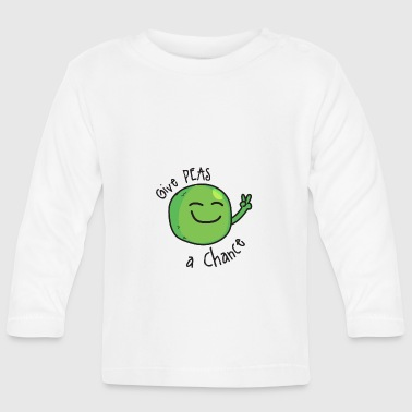 Peas pea - Baby Long Sleeve T-Shirt