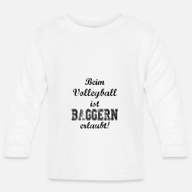 Draguer Sport: volleyball drague - T-shirt manches longues Bébé