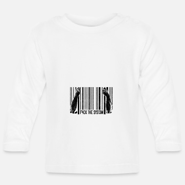 Provocation Provocation provocative fuck the system - Baby Longsleeve Shirt