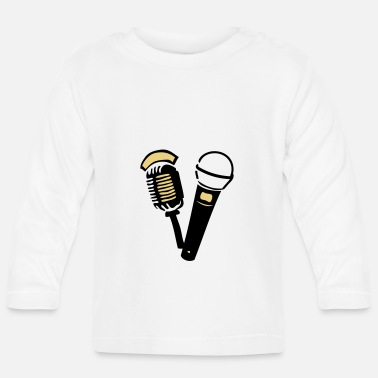 Old old old microphone - Baby Longsleeve Shirt
