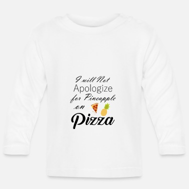 No Apology No Apologize black - Baby Longsleeve Shirt
